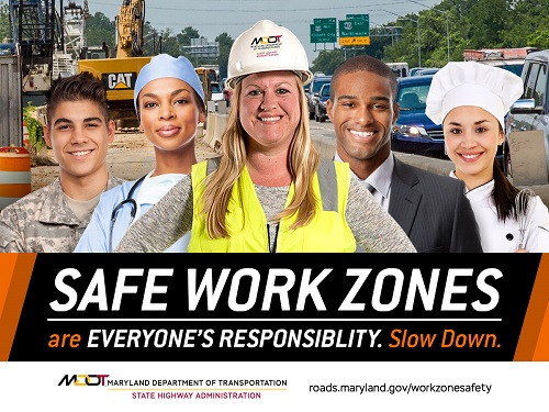 Work Zone Safety graphic #1