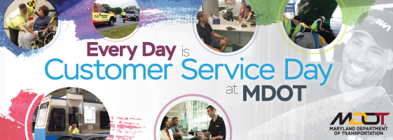 Every day is Customer Service Day at MDOT