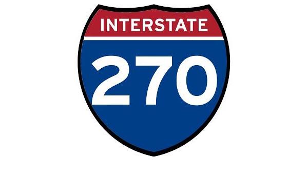 I-270 sign