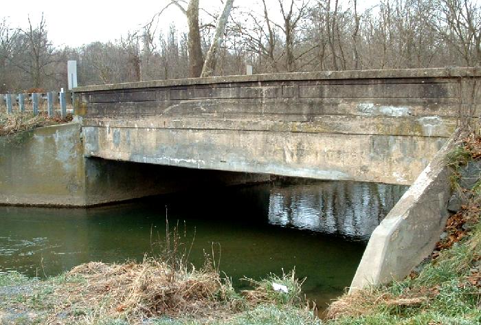 MD 355 Bridge over Little Bennett Creek in Hyattstown