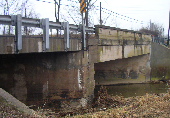 Urbana Bridge over Bennett Creek will be replaced with a higher and wider bridge