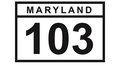 MD 103 sign