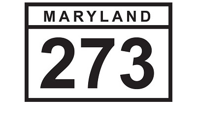 MD 273 sign