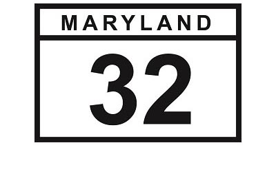 MD 32 sign