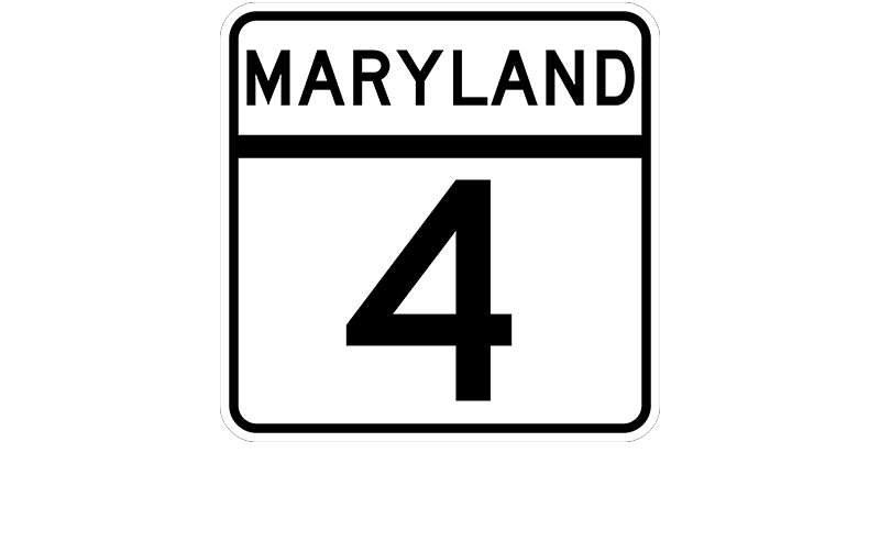 MD 4 sign