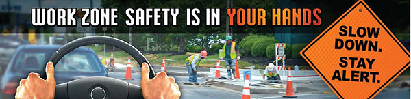 Work Zone Safety Infographic