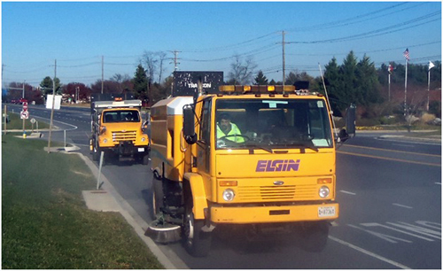 Sweeper Truck: Frederick County 2012