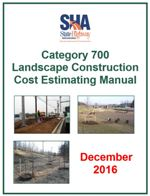 SHA Landscape Estimating Manual