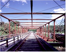 Bollman Truss Suspension Bridge
